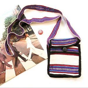 Handbags - Baja Woven Smartphone Mini Crossbody Bag